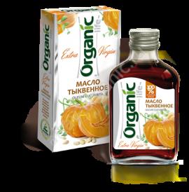 """Тыквенное масло """"Organic"""" 100 мл"""