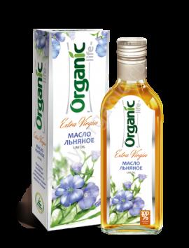 "Льняное масло ""Organic"" 250 мл"